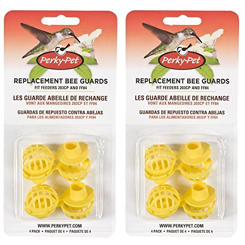 Perky-Pet 205Y Replacement Yellow Bee Guards - 2 - Hummingbird Pet Perky