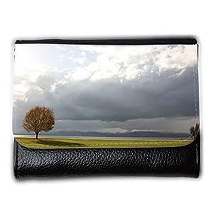 le portefeuille de grands luxe femmes avec beaucoup de compartiments // M00315007 Puesta del sol del océano de agua // Medium Size Wallet