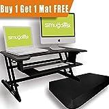 Standing Desk Adjustable Desk Riser Converter Deal (Small Image)