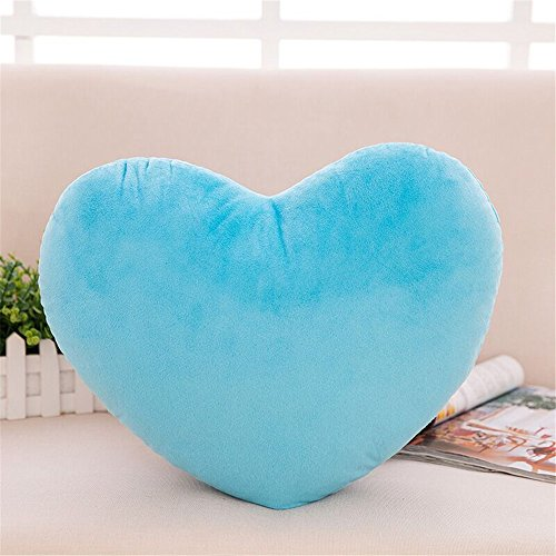 S-SSOY Cute Emoji Plush Pillow Heart Shape Cushion Fluffy Throw Pillows Decorative Toy Gift for Friends/Children Valentine