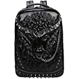 Backpack School Laptop Bag with Chain Nose Ring HN-92