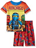 LEGO Ninjago Little Boy's 2-pc Pajama Short Set, RED, 8