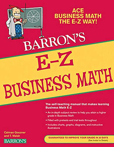 E-Z Business Math (Barron's Easy Series)