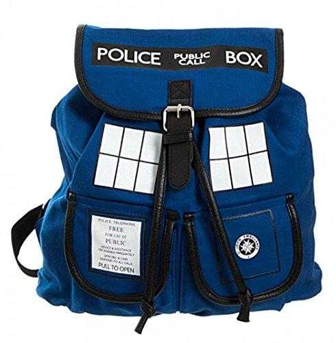 Police Costume Box Call (Doctor Who TARDIS Call Box Blue KNAPSACK)