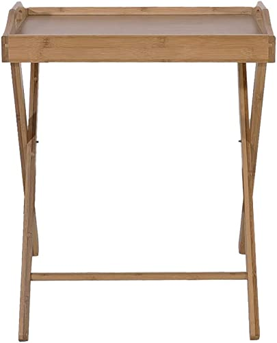 EBLSE Standing Folding Dining-Table Sturdy Durable Practical Save Space Tables Wood Color