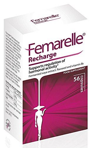 Femarelle menopause dietary supplement capsules