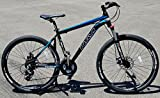 "Image of Navi R200 Hardtail Aluminum Alloy Frame, Navi Disc Brakes, Shimano ALTUS 24-speed, 26"" Wheel Mountain Bike (BLACK / BLUE)"
