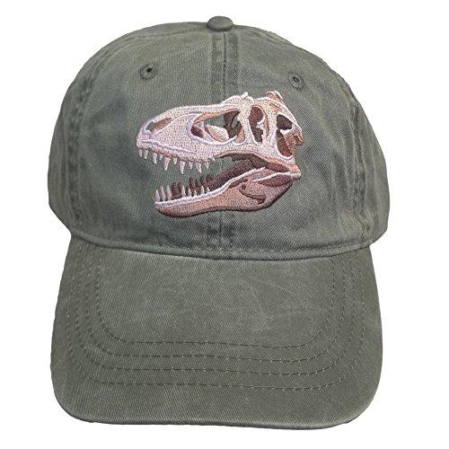 ECO Wear T-Rex Tyrannosaurus Dinosaur Embroidered Baseball Cap