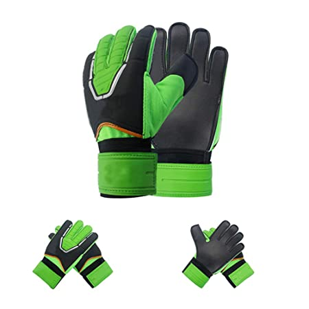 JHKJ Soccer Goalkeeper Gloves Goalkeeper Gloves With Finger Spines To Give  Splendid Protection To Prevent Injuries 68b0ca116574