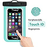 """Buylen Universal Waterproof Case with Super Sealability Technology, CellPhone Dry Bag Pouch with Sensitive PVC Touch Screen for Cellphone up to 6.0"""" diagonal"""