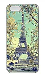 iPhone 5 5S Case Paris Eiffel Tower 03 Cover Skin For iPhone 5/5S Cases Transparent by icecream design