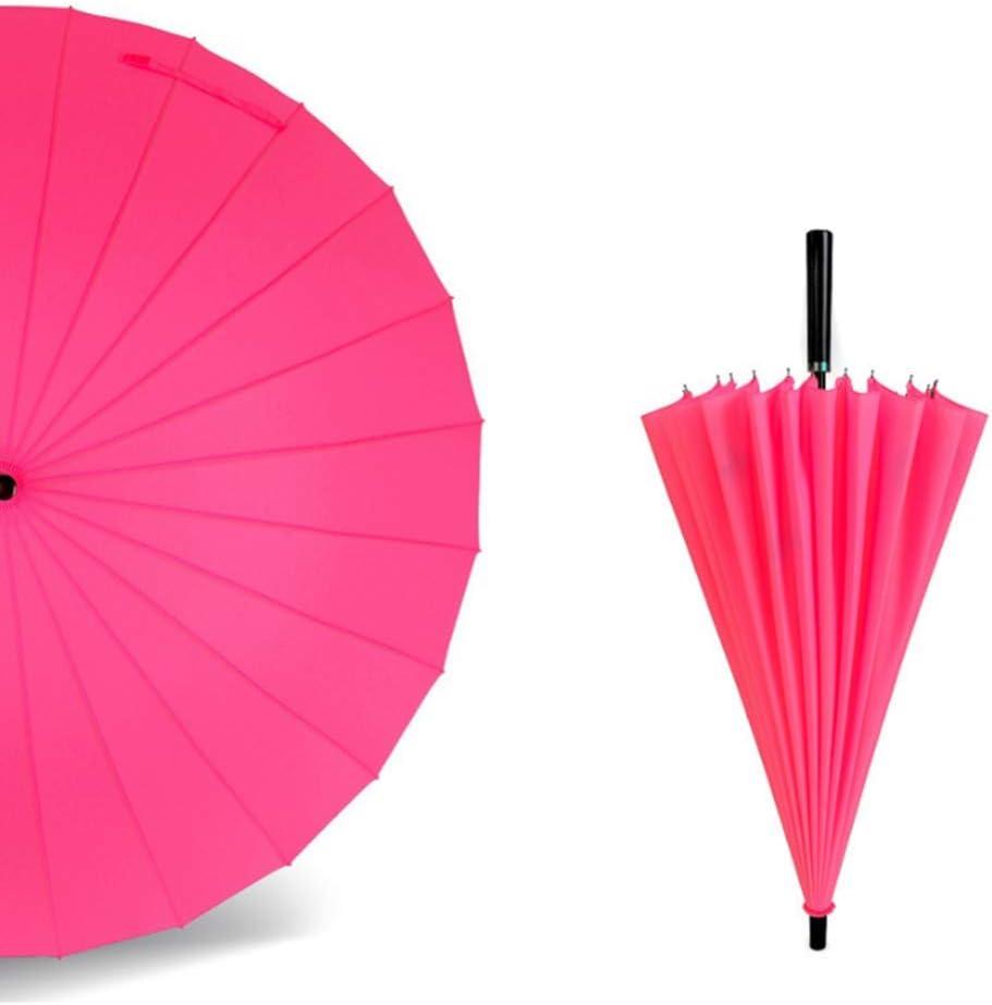 TtKj Folding Umbrella Oversized Two-Person Umbrella 86105130cm Long Handle Business Straight Handle Umbrella