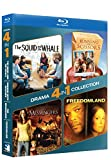 Blu-ray Drama 4-pack - SQUID AND THE WHALE/RUNNING WITH SCISSORS & MESSENGERS/FREEDOMLAND