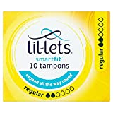 Lil-lets Non-applicator Tampons Regular Absorbancy - 10 Tampons