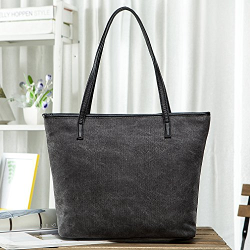 Bags Polyester Women Gray Large Totes Shoulder Fashion Designer Extra Gracery La zX6xgg