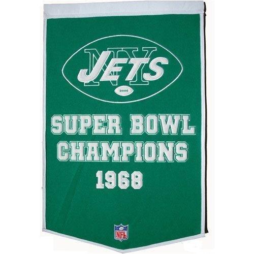 UPC 674088770553, New York Jets Dynasty Banner