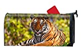 Una Stowe Attractive Mailbox Makover Cover Bengal Tiger Mailbox Makeover Yard,Home,Garden Magnetic