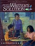 Writer's Solution : Grade 8, , 0138341869
