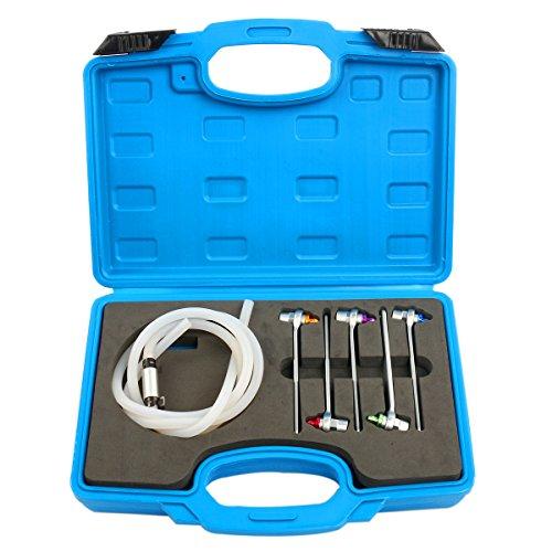 (8milelake Brake Oil Clutch Bleeder Hose Mini 7,8,9,10,11mm Wrench and Check Valve)