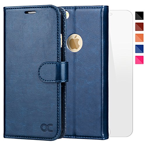 OCASE iPhone 6 Case iPhone 6S Case [Screen Protector Included] Wallet...