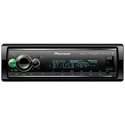 Pioneer MVH-S720BHS Short Chassis Digital Media Receiver with Enhanced Audio Functions, Smart Sync App Compatibility, MIXTRAX, Built-in Bluetooth, HD Radio and SiriusXM-Ready