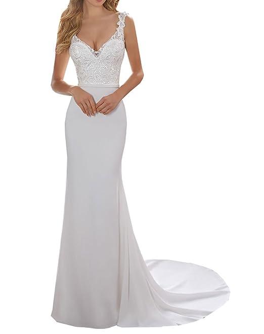 da15bfd10d75 Special Bridal Abito da Sera Stile Sirena Sexy con Merletto Senza Maniche  Party Costume da Sirena per Le Donne  Amazon.it  Abbigliamento
