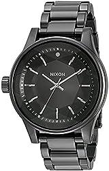Nixon Women's Facet All Gunmetal Quartz Stainless Steel Watch (Model: A384-632-00)