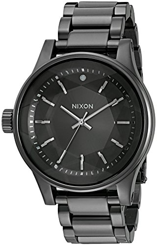 Nixon Women's Facet All Gunmetal Quartz Stainless Steel Automatic Watch (Model: A384-632-00)