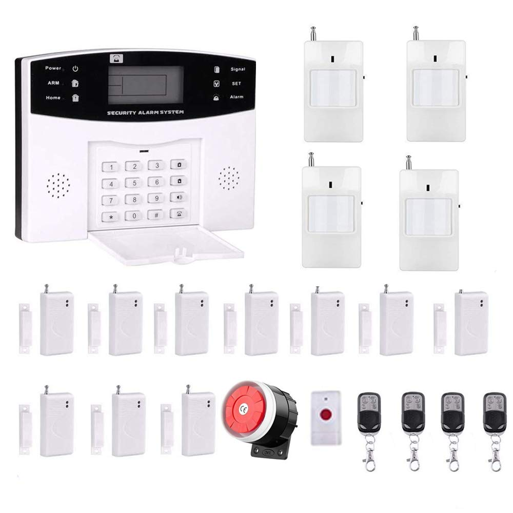 Ag-security High efficiency security system 99+8 zone Automatic alarm GSM SMS Home Burglar Security Wireless Gsm Alarm System Detector Sensor Kit Remote Control by AG-Security