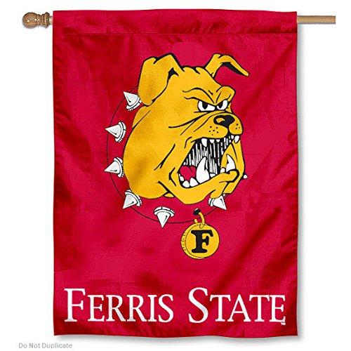 Ferris State University Bulldogs House Flag