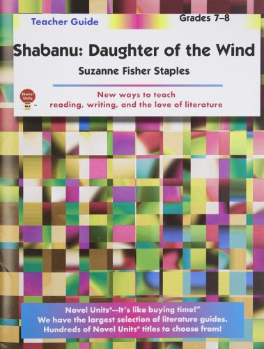 Shabanu: Daughter of the Wind - Teacher Guide by Novel Units