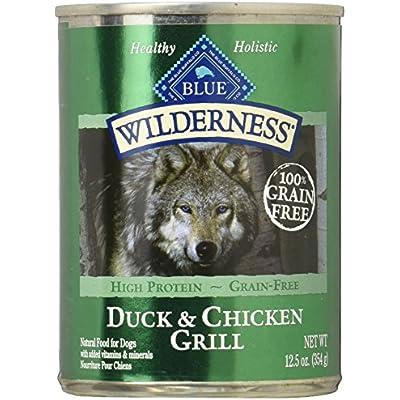Blue Buffalo 596422 Wilderness Canned Dog Food, Large