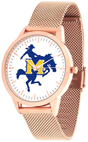 Mcneese State Watch - McNeese State Cowboys - Mesh Statement Watch - Rose Band