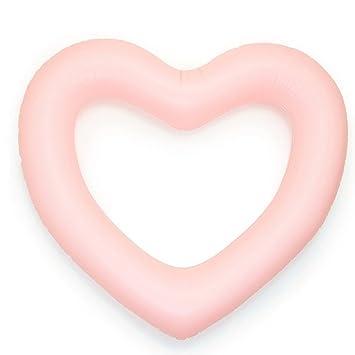 ED-Lumos Flotador Hinchable Grande Forma de Corazón ...