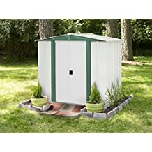 Arrow Shed HM65 Hamlet 6-Feet by 5-Feet Steel Storage Shed