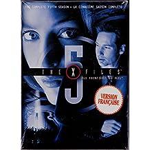 Aux Frontières du Réel : Intégrale Saison 5 - X-Files : Season 5 (English/French) 1997 - 1998 (Widescreen) Régie au Québec (Cover Bilingue) Coffret 6 DVD