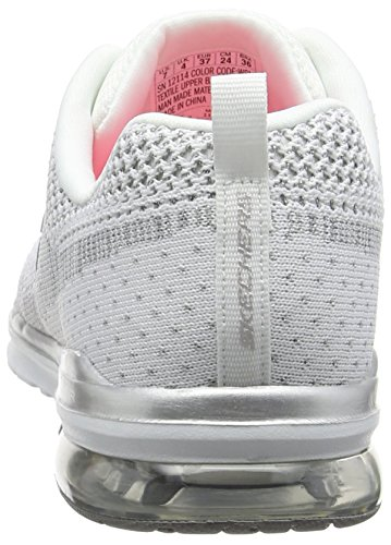 Skechers (SKEES) Skech- Air Infinity-stand Out - Zapatillas de deporte Mujer Blanco (Blanco (WSL))