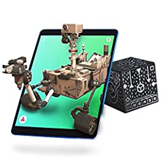 MERGE Cube is a STEM tool that combines augmented reality and natural touch to enhance learning in the classroom and at home. Perfect as a learning tool for girls and for boys - kids can hold the solar system in the palm of their hand, examin...