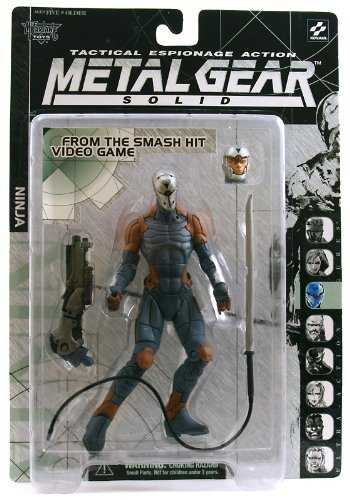 metal gear solid ninja action figure - buy online in uae
