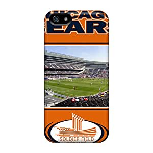 KcdLe13450eeXOm Case Cover Protector For Iphone 5/5s Chicago Bears Case