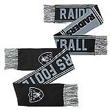 NFL Youth Boys Scarf-Black-1 Size, Oakland Raiders