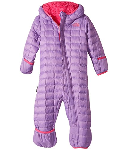 - The North Face Infant Thermoball Bunting (Bellflower Purple, 0-3 Months)
