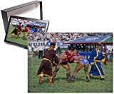 Photo Jigsaw Puzzle of Wrestling match