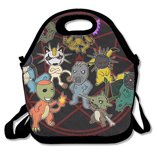 NaDeShop Slipknot Poke Magic Lunch Bag Tote (Slipknot Chris)
