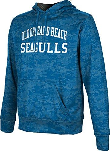 Men's Old Orchard Beach High School Digital Hoodie Sweatshirt - Old Shops Orchard