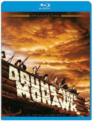 Image result for drums along the mohawk blu ray