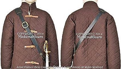 Pirate-Buccaneers-Re-enactment-Larp-Cosplay GUN /& SWORD BALDRIC in 2 Colours