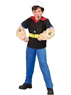 Disfraz de Popeye (4-6 años): Amazon.es: Juguetes y juegos