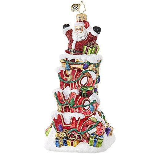 Christopher Radko Ho Ho Ho Santa Santa Claus Christmas Ornament
