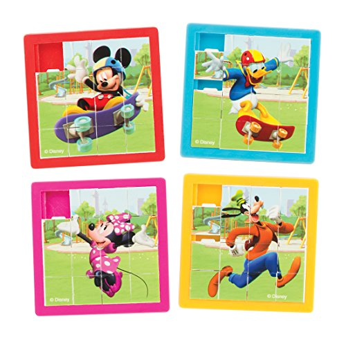 Mickey Mouse Slide Puzzles - Prizes 48 per Pack ()